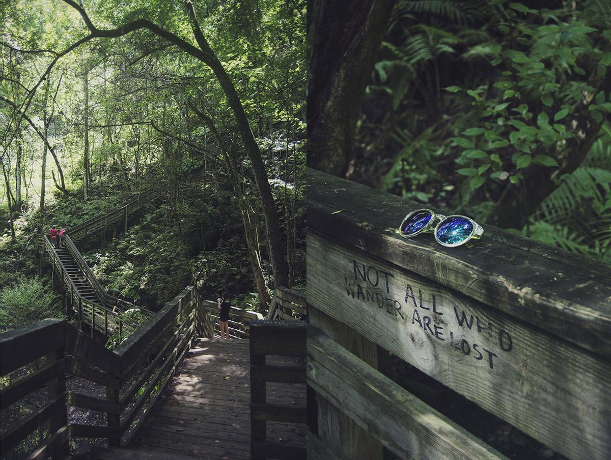 Gainesville Williston Florida Devils Den Millhopper Brittany Norris Devil's Millhopper Geological State Park not all who wander are lost
