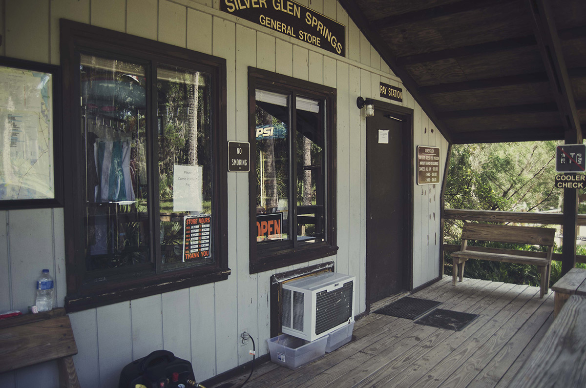 brittany norris central florida Ocala National Forest Silver Glen Springs