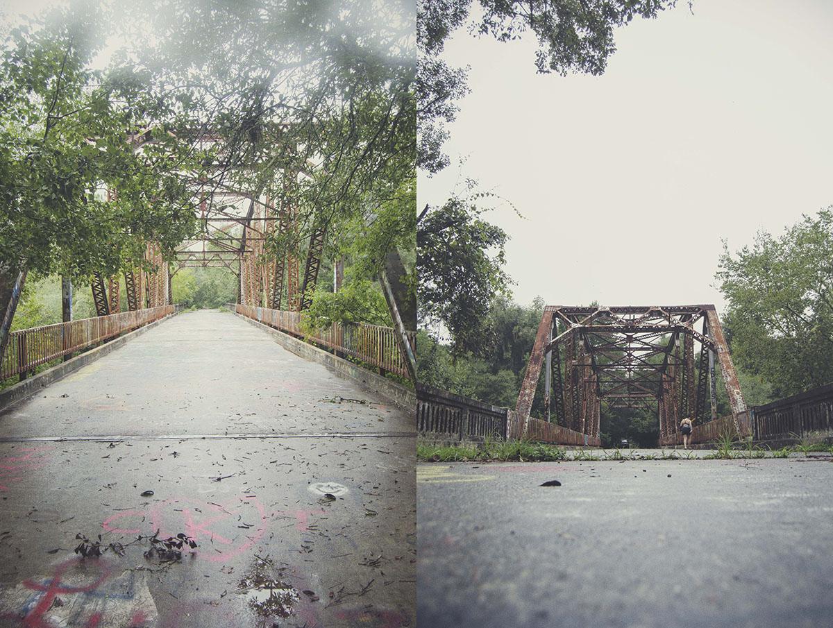 brittany norris florida live oak springs natural nature abandoned Highway 129 Suwannee Springs Bridge