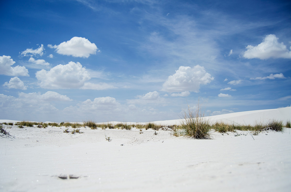White Sands National Monument Alamogordo New Mexico gypsum sand dunes road trip america go west sisters camping