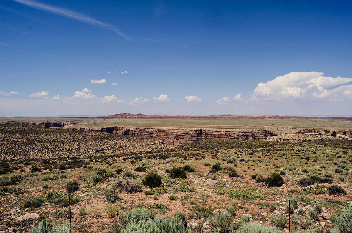 road trip america go west sisters camping driving Little Colorado River Gorge
