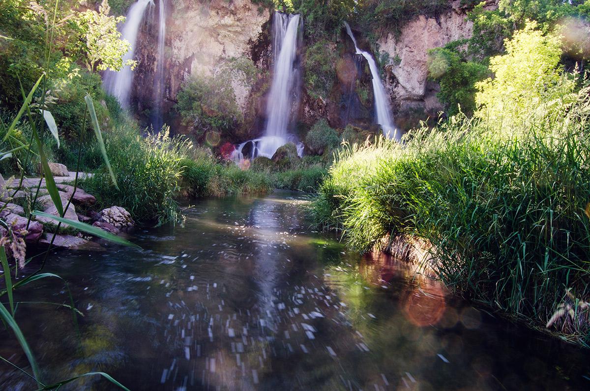 road trip sisters Rifle Falls State Park colorado three waterfall