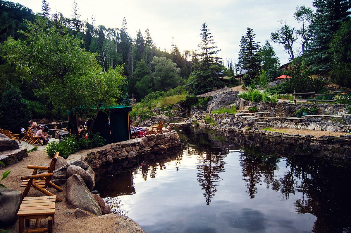 road trip sisters strawberry hot springs colorado