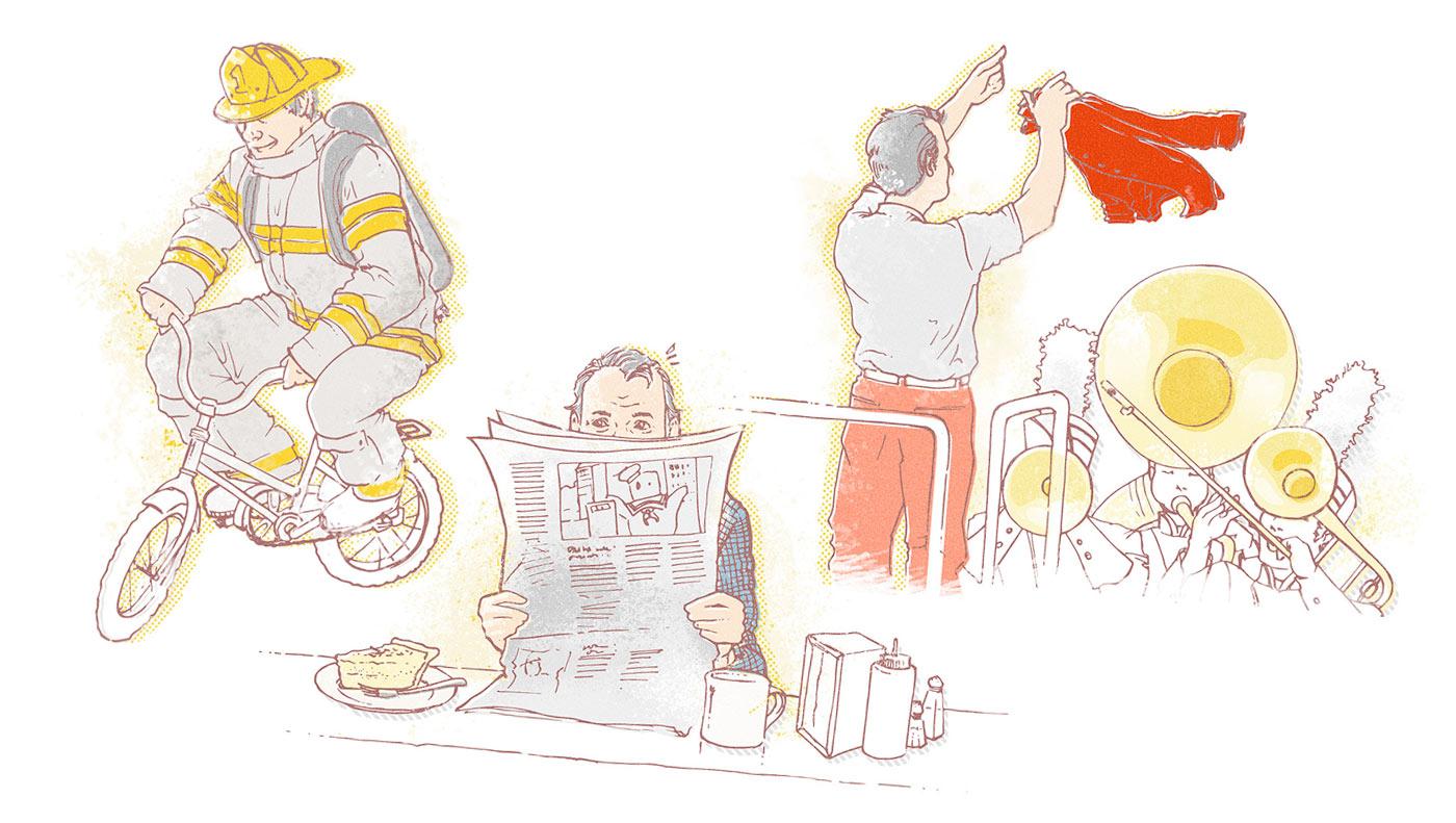Whalebone Magazine Illustrations